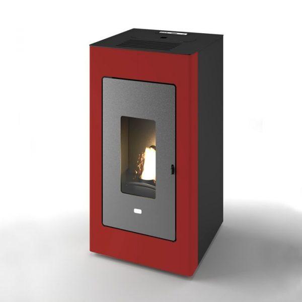 termostufa-stufa-a-pellet-idro-punto-fuoco-rossa-